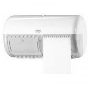 557000 toiletpapier dispenser wit 2